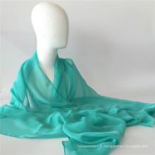 Écharpe en mousseline de soie