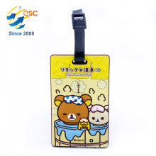 Factory Price Wholesale Cheap Custom PVC Luggage Tag