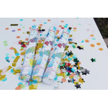 2017 Nouveau Design Confetti Party Popper