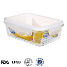 Easylock heatable glass food storage box
