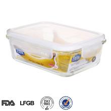 Caixa de armazenamento de alimentos Easylock aquecedor de vidro