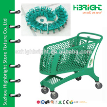 portable shopping cart with wheels