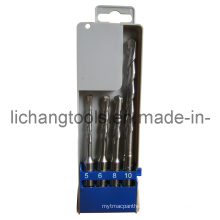 4PCS Drill Bit Set with Plastic Box