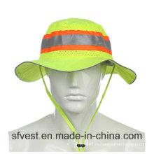 Straße Sicherheit Ausrüstung Hohe Sichtbarkeit Eimer Hut Fischen Hüte Caps Arbeitskleidung Angeln Cap Outdoor Headwear