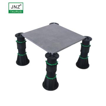 Taurus showroom raised floor stand adjustable pedestal