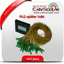 Hochwertiger 1 * 64 PLC Splitter / Optischer Koppler