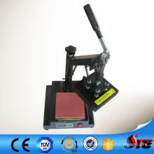 Máquina manual da imprensa do calor do logotipo do certificado do CE para a venda