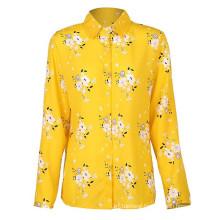 Women Blouses Plus Size Turn-Down Collar Blouse Shirt Tops