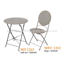 Metal furniture - garden set & bistro set 1