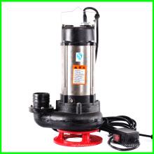 Bomba de aguas residuales de la WQ con bomba sumergible de aguas residuales