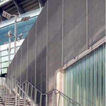 Ventilated Steel Bar Grating Building Facades