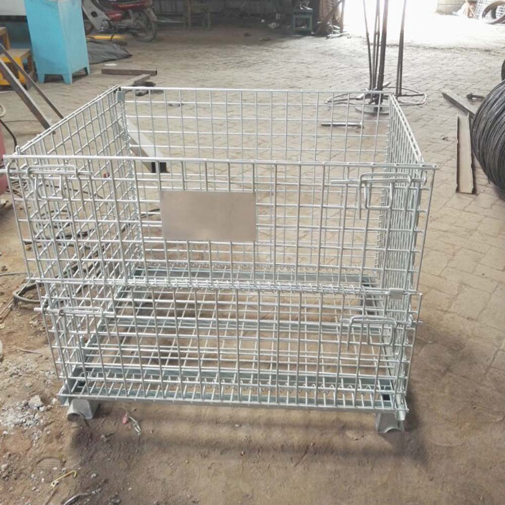 China Industrial Pallet Cages For Cargo And Storage