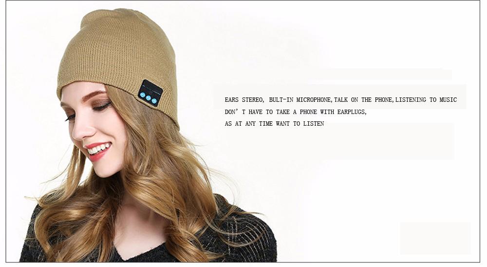 bluetooth music hat