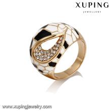 Anillo grande del nuevo diseño del producto de la moda de 14395 xuping en galjanoplastia 18k con la aleación de cobre para las mujeres