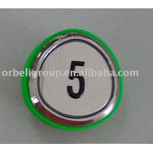 Elevator push button(green ring),lift parts