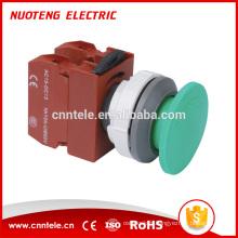 Interrupteur à bouton-poussoir de lampe de poche d'urgence de type tête convexe 30mm 22mm