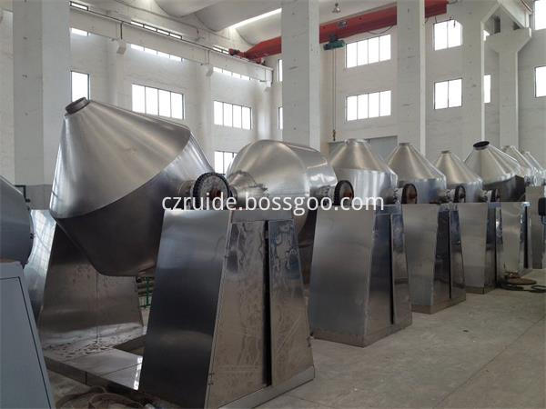 Vacuum Rotary Drying Machine with Double Cone