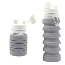 Outdoor Sports Silikon Faltbare Trinkflasche