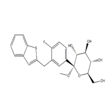 Metil 1-C-[3-(Benzo[b]thien-2-YlMethyl)-4-Fluorophenyl]-CAS 1034305-23-1