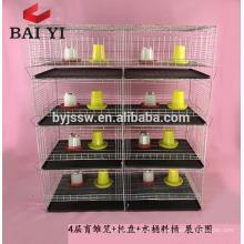El nuevo diseño de fábrica de China galvanizó la jaula de polluelo de la capa del bebé para la venta