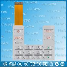 DIY membrane switch design for Attendance machine