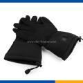 Soft shell waterproof fabric ski gloves