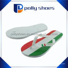 Semelle imprimée à rayures colorées imprimé à chaussures en caoutchouc