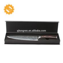 Couteau de chef professionnel de lame de couteau Damas professionnel de 8 pouces avec boîte-cadeau