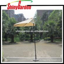 Parapluies en plein air demi-parapluies café mur balcon porte 5 côtes parapluie inclinable en aluminium Sun Shade