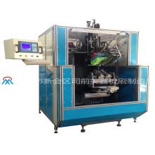 Máquina de tufagem de alta velocidade da escova do CNC de 4 linhas centrais