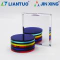Feuilles acryliques transparentes décoratives