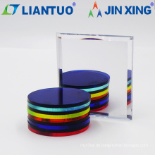 Dekorative transparente Acrylblätter