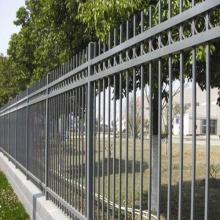 spear top tubular zinc corten steel fence