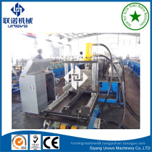 building material construction rollform steel purlin molding machine