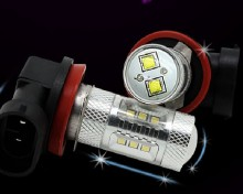 New Arrival Car LED Lamp for Lamp H8 22W Samsung Chip+CREE Chip LED