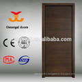 CE modern style painting veneer flush wooden internal doors