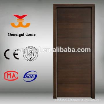 Flat veneered finish plywood doors