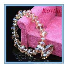 Moda cristal coleção jóias de cristal gemstone jóias charme pulseira