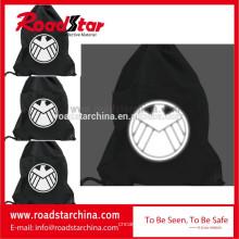 Lindo bolso de seguridad reflectante poliéster 100%