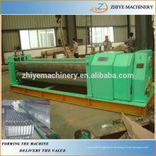 Beliebte Typ gewellte farbige Stahl Kaltumformmaschine