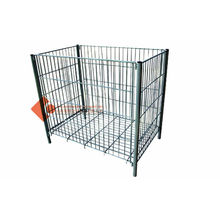 Shop Reusable Durable Collapsible Wire Containers Clothing Cage Rack