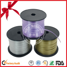 Gift Packaging Flocking Plastic Curling Ribbon Roll