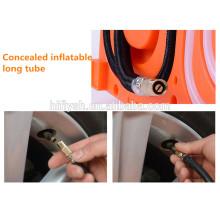 TS-1688 (106) Lavador de carro Medidor de pressão dos pneus Bomba de ar 3 em 1 máquina 12V elétrica (certificado do CE)