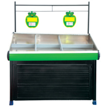 Fruits et légumes en gros populaire afficher étagères, légume grille pour magasin, légume s'élève à vendre