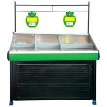Frutas e vegetais por atacado popular prateleiras de exposição, vegetal rack para loja, vegetal carrinhos para venda