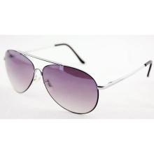 Gafas de sol polarizadas del metal del diseñador de la calidad de la manera para las mujeres