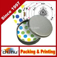 Kundenspezifische Design Runde Form Spielkarten (430018)
