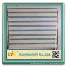Hochwertige Indoor Natürliche Farbe Blind Zebra Stoff