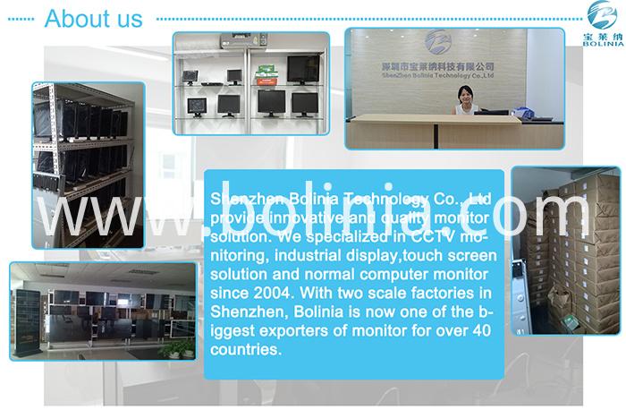 Bolinia Monitor Company Info
