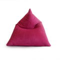 90% Polyester10% Spandex Pyrami Puff Bean Bag Cover